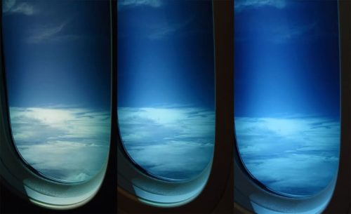 航空用電子カーテン
